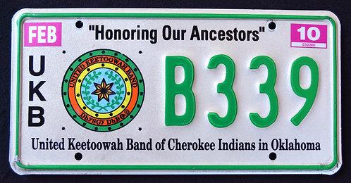 OK United Keetoowah Band Of Cherokee Indians - UKB