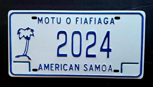 American Samoa - Palm Tree - 2024