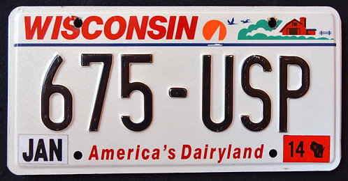 WI America`s Dairyland - 675 USP