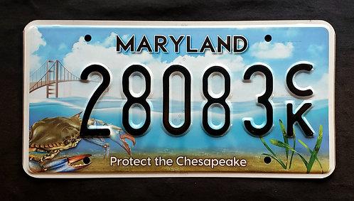 MD Maryland - Wildlife Crab - Protect the Chesapeake