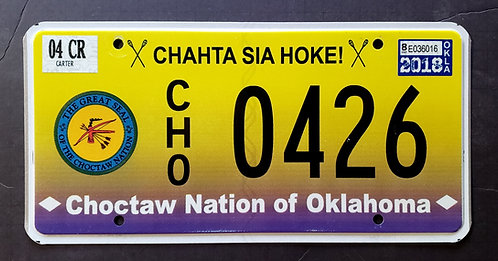 OK Choctaw Nation - Tribal Seal - CHO 0426