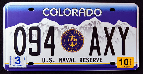 CO United States Naval Reserve - U.S. Navy - 094 AXY