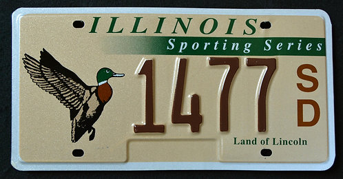 IL Wildlife Duck - Bird - Sporting Series - Land of Lincoln - 1477SD