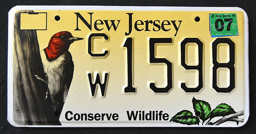 NJ Conserve Wildlife Woodpecker - Bird