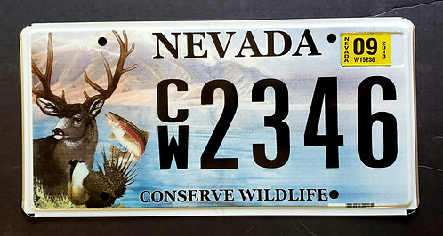 NV Conserve Wildlife Deer Trout Fish Bird - CW2346
