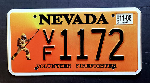 NV Volunteer Firefighter - VF1172