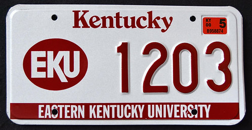 KY Eastern Kentucky University