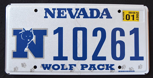 NV Wolf Pack - Football - University Of Reno, Nevada
