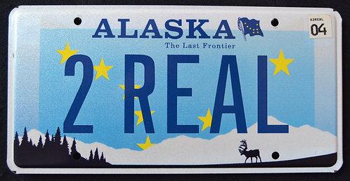 AK Wildlife Caribou - The Last Frontier - Vanity 2 REAL