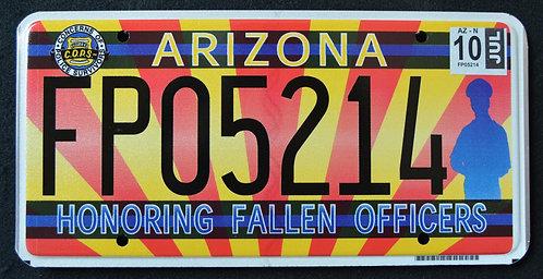 AZ Honoring Fallen Police Officers - Cop - FP05214