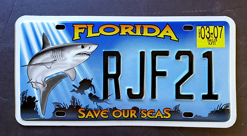 FL Wildlife Great White Shark - Save Our Seas - RJF21