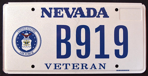 NV Veteran - United States Air Force - B919