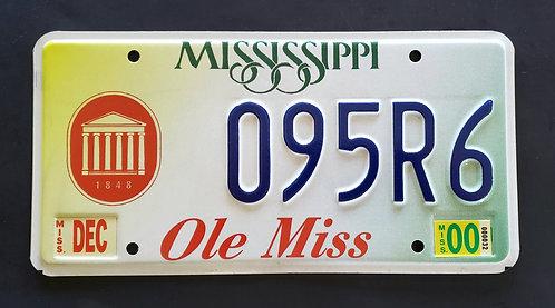 MS Ole Miss University - 095R6