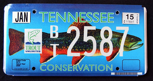 TN Wildlife Conservation Trout - Fish - BT2587