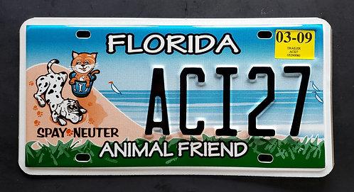 FL Florida - Animal Friend - Pets - Cat - Dog - ACI27