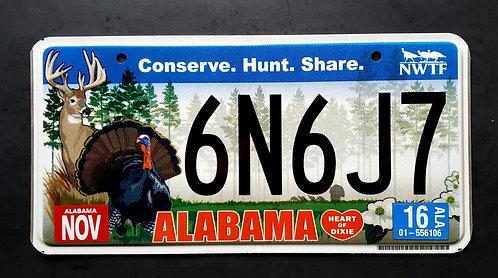 AL Wildlife Deer - Conserve - Hunt - Share - 6N6J7