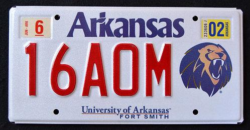 AR University Of Arkansas Fort Smith - Wildlife Lion - 16A0M