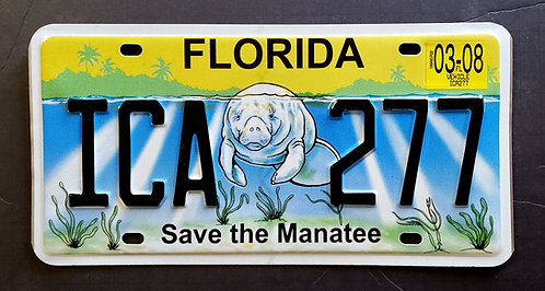 FL Save the Manatee - Wildlife - ICA 277