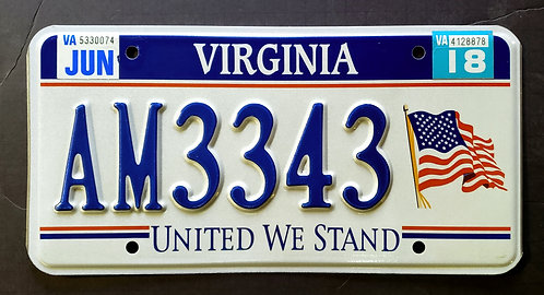 VA United We Stand - US Flag - AM3343