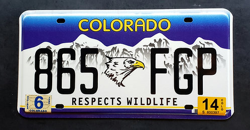 CO Respect Wildlife - Eagle - Bird -  865 FGP