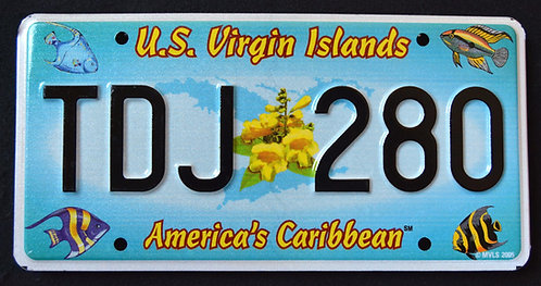 USVI US Virgin Islands (St.Thomas) - America`s Caribbean - Tropical Fish