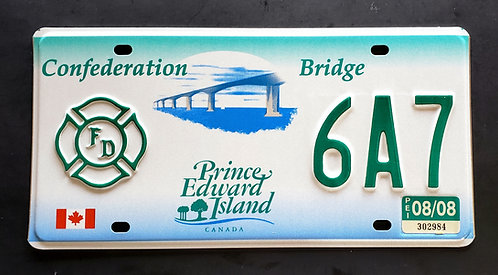 CAN Prince Edward Island - Firefighter - Confederation Bridge - 6A7
