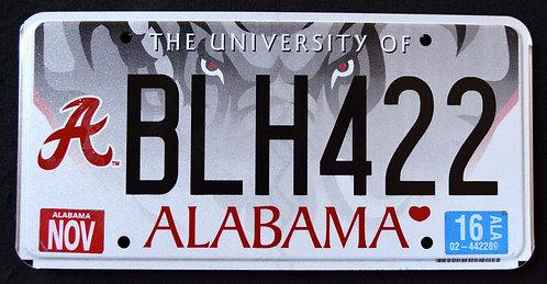 AL University Of Alabama - Wildlife Elephant - BLH422