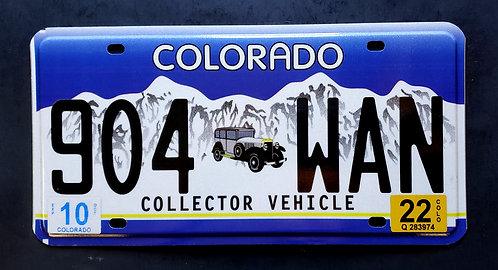 CO Collector Vehicle - Automobile - Cars - 904 WAN
