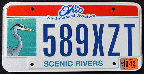 OH Scenic Rivers - Wildlife Heron - Bird - 589 XZT