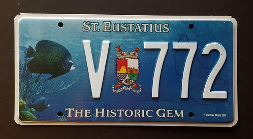 St. Eustatius - Wildlife Tropical Fish - V 772