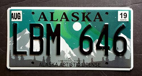 AK Northern Lightes - Aurora - Artistic - LBM 646