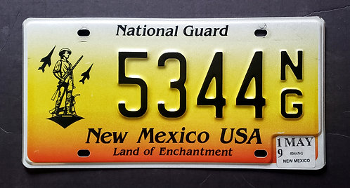 NM National Guard - Land of Enchantment - 5344NG