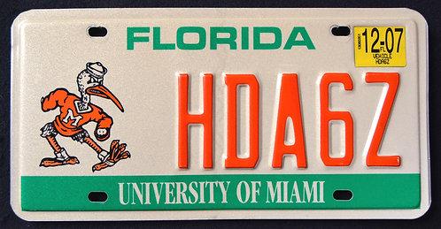 FL University Of Miami - HDA6Z