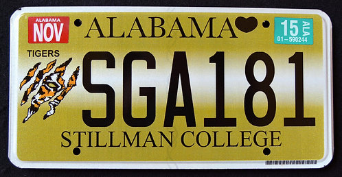 AL Stillman College - Tigers - Football - NFL - SGA 181