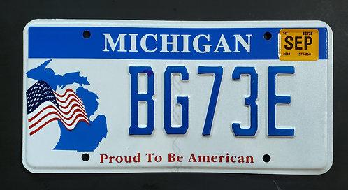 MI Proud To Be American - Stars & Stripes - Flag - BG73E