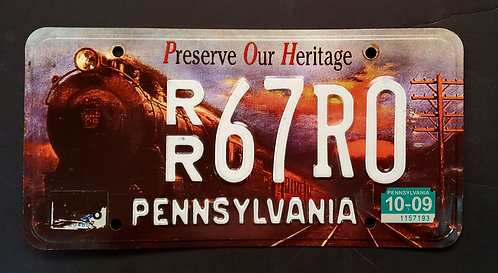 PA Preserve Our Heritage - Railroad - Vintage Train - RR67R0