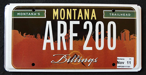 MT Billings - Montana`s Trailhead