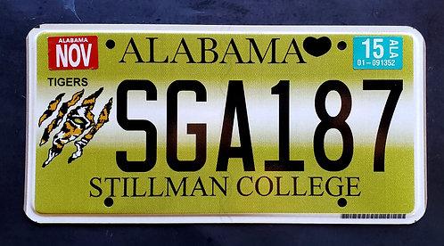 AL Alabama Stillman Tigera - Football - Collage - SGA187