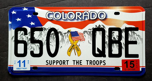 CO Support Our Troops - 650 QBE