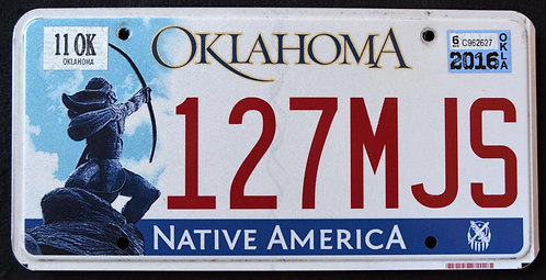 OK Native America - Indian - 127MJS