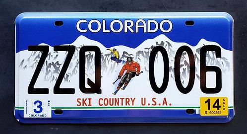 CO Colorado - Ski Country USA - Snowboard - ZZQ 006