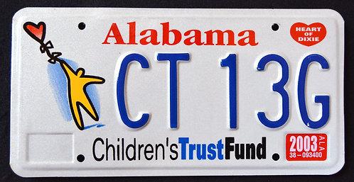 AL Children`s Trust Fund - Kids - CT13G