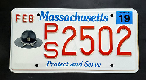 MA Protect and Serve - Police - PS2502