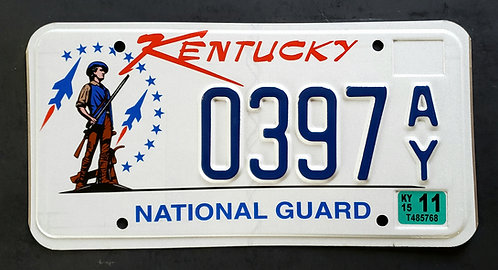 KY National Guard - Soldier - Fighter Jet - 0397AY