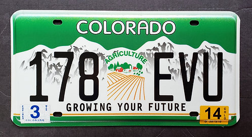 CO Agriculture - Growing your Future - 178 EVU