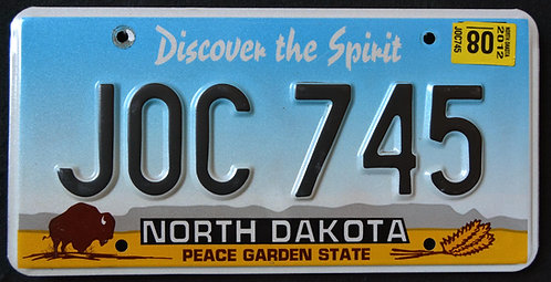 ND Discover The Spirit - Wildlife Bison - Buffalo - Peace Garden State - JOC 745