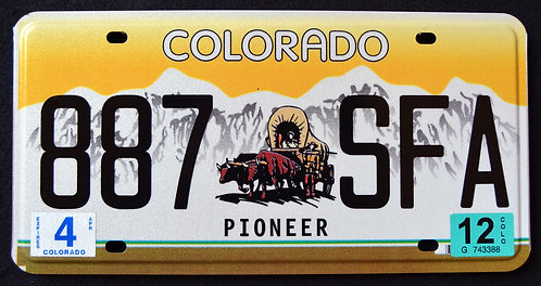 CO Pioneer - Covered Wagon - 887 SFA