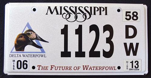 MS Wildlife Delta Waterfowl - Duck