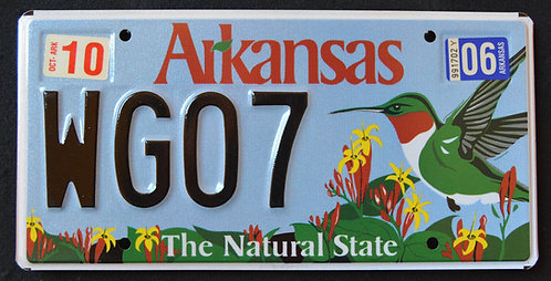 AR Wildlife Hummingbird - Bird - The Natural State - WG07