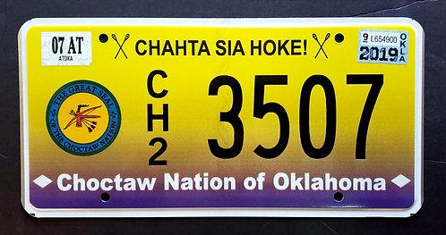 OK Oklahoma - Choctaw Nation - Chahta Sia Hoke - CH2 3507